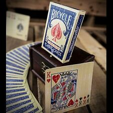 Faded Rider Back Blue-BICYCLE POKER carte da gioco