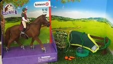 NEW Schleich Pony Horse Club Eventing Rider Stable Set Tack ALL item inc 42288