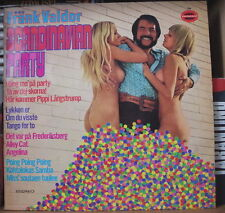 FRANK VALDOR SCANDINAVIAN PARTY SEXY NUDE COVER GERMAN PRESS LP SOMERSET