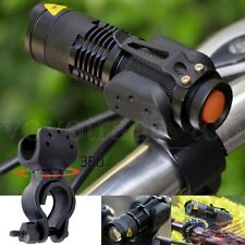 1200lm Cree Q5 LED Bike Cycling Head Front Light Bicycle Flashlight 360 Mount