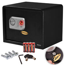 15'' Biometric Fingerprint Electronic Digital Wall Safe Box Keypad Lock Sec