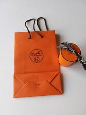 HERMES Twilly Scarf Gift Box + Hermes Carrier Bag 22cm x 15cm (empty)