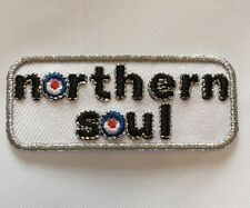 Northern Soul Mod Iron On Patch - Mod Gift Present