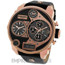 *NEW* MENS DIESEL DIGITAL QUARTZ ROSE GOLD SBA XL WATCH - DZ7261 - RRP £309