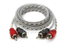 Cerwin Vega CRH3 Twisted 2-Channel RCA Interconnect Cables 3 Feet New