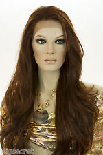 25 inch Long Lace Front Heatresistant Blonde Brunette Red Straight Wavy Wigs