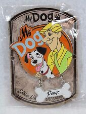 Disney DLRP DLP Paris Pin My Dog Series Roger Pongo 101 Dalmatians LE 700