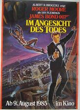 JAMES BOND 007 - Im Angesicht des Todes A VIEW TO A KILL - Filmplakat DIN A1