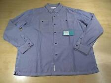 NEIGHBORHOOD JAPAN TECHNICAL NBHD STRIPED L/S BUTTON UP SHIRT BLUE XL SUPREME