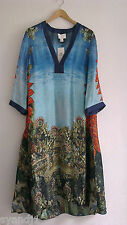 H&M Conscious Exclusive 2016 Silk Dress Kaftan UK10 EU36 ONLY ONE!