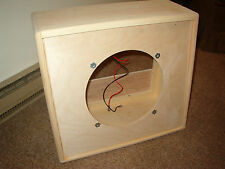 1 x 12 112 guitar extension speaker cabinet TRM open back unfinished project