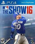 MLB 16: The Show (Sony PlayStation 4, 2016)