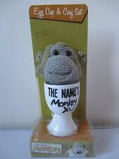 PG TIPS Egg Cup & Monkey Egg Cosy BRAND NEW BOXED