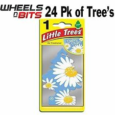 24x Daisy Chain Profumo Magic Tree Piccolo Alberi Auto Casa Deodorante