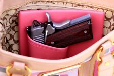 RUGER LCP 380 Purse Holster PINK RH MINI Creative Conceal Carry Bag Car Home