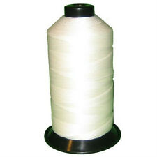 WHITE Bonded Nylon Thread #277 t270 for Upholstery bag shoe leather 800yds