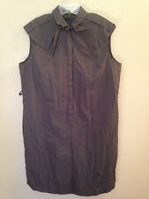 Hugo Boss button front shirt dress, size 14 (US); 50 (IT); 18 (UK)
