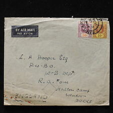 ZS-AB725 STRAITS SETTLEMENTS - Airmail, 1934 From Singapore To Bucks Cover