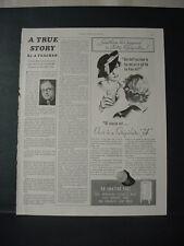 1934 Frigidaire '34' Electric Refrigerator Vintage Print Ad 209