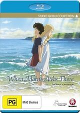 When Marnie Was There Blu-ray Discs NEW