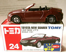 ONE TOMICA TAKARA #24 TOMY 1/61  TOYOTA NEW SOARER 2001 CAR