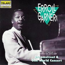 ERROLL GARNER : DREAMSTREET + ONE WORLD CONCERT / CD - NEUWERTIG