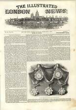 1843 Military Decorations For Native Troops India Murder Mutilation In Leeds