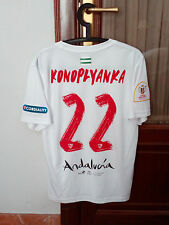 #22 KONOPLYANKA, SEVILLA FC PLAYER ISSUE shirt, Spanish KING CUP FINAL 2016