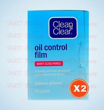 2 packs x Clean & Clear Oil Control Film Oil-absorbing Sheets Water-oil Balance