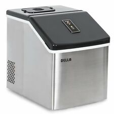Della Electric Ice Maker Machine Portable Counter Top Yield Up To 28 Pounds of