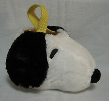 "New with Tag--Snoopy Head Plush Basket --Easter, Gifts--12"" x 7-1/2"""