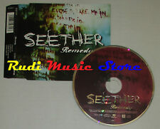 CD Singolo SEETHER Remedy 2005 WIND UP 675980 2 (S2) mc dvd