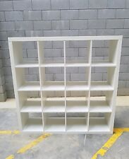 Large  Book shelf box shelves  white in colour in very good condition