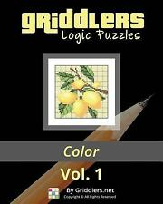 Griddlers Logic Puzzles : Color: Nonograms, Griddlers, Picross by Griddlers...