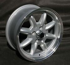 4 Mazda MX-5 NA Felgen 7x15 silber / poliert mit TÜV Teilegutachten