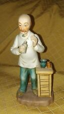 Vintage Brinn's PGH, PA Doctor porcelain Figurine, Made in Taiwan