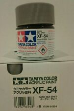 Tamiya acrylic paint XF-54 Dark sea Grey 23ml.