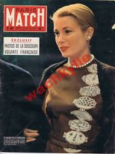 Paris Match n°381 du 28/07/1956 Marilyn Monroe Leigh Grace Monaco Las Végas