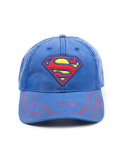 OFFICIAL DC COMICS SUPERMAN SYMBOL LIGHT BLUE BASEBALL CAP (BRAND NEW)