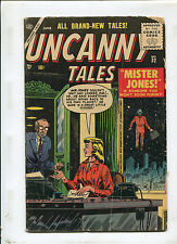 UNCANNY TALES #32 (2.0) MR JONES IS SOMEONE YOU WON'T SOON FORGET! 1955