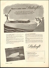 1946 Vintage ad for Steelcraft Boats`reto boats Photo   (062616)