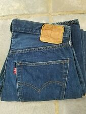 Vintage Levi's 501 Shrink to fit selvedge redline single stitch USA W35 x L32 #6