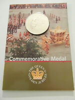 Royal Mint - Queen Elizabeth II - Golden jubilee Medal / Coin - 1952/2002