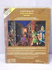 1981 TSR Advanced Dungeons & Dragons Module A2 Secret of the Slavers Stockade