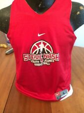 Basketball Jersey Nike Reversible Red/White Youth Large Steve Nash