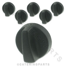 PACK OF 6 x KN30 GAS VALVE TAP PLASTIC PUSH ON CONTROL KNOB FOR 8mm x 6mm SHAFT