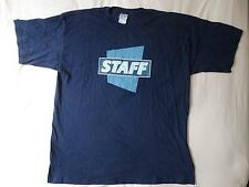 "T-shirt MAGIC THE GATHERING, ""staff"", Junior Series, taglia XL, colore blu, 100% Cotton"