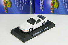 Kyosho 1/64 Mazda Savanna RX-7 FC3S White Rotary Engine Minicar Collection 2013