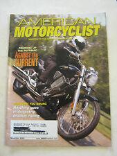 November 2003 American Motorcyclist Magazine, Cruising Up The Potomac  (BD-27)