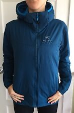 Arc'teryx Atom LT Hooded Insulated Jacket Women's Size Large Oceanus Blue